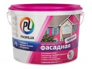 Краска Профилюкс PL-112A фасадная влагостойкая белая 14 кг