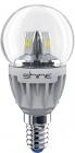 Лампа светодиодная диммируемая Shine С37-4Вт-Е14-3000K Crystal