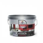 Краска Профилюкс Professional INTERIOR ВЛАЖНАЯ УБОРКА латексная для стен и потолков 2,5кг