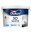 Краска 3D WHITE Dulux ослепительно белая матовая, латексная (10 л)