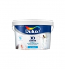 Краска 3D WHITE Dulux ослепительно белая матовая, латексная (5 л)