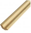Плинтус деревянный фигурный 3000х45 мм