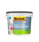 Краска Marshall EXPORT латексная матовая для кухни и ванной BW (4,5л)