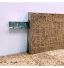 Крепеж для плинтуса скоба Floor Plinth