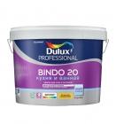 Краска Bindo 20 Dulux Professional BW полуматовая, латексная (9л)