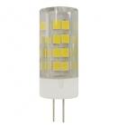 Лампа светодиодная G4 5Вт 220В 4000К 400Лм Jazzway