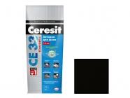 Затирка Ceresit CE 33/2 для швов 2-5мм S графит 2 кг