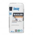 Шпаклевка цементно-полимерная финишная белая Кнауф Раслер 20 кг (48)