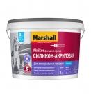 Краска Marshall Akrikor фасадная силиконо-акриловая матовая BW (9л)