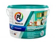 Краска Профилюкс PL-13L латексная моющаяся влагостойкая Супербелая 14 кг