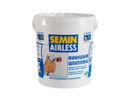 Шпаклевка финишная AIRLESS (CLASSIC, белая крышка) 25кг SEMIN