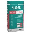 Штукатурка цементная армированная Dauer Slider Fassad 31 Fibro 40 кг
