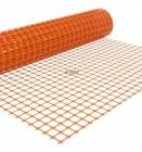 Сетка оградительная 1,33х50,0 м оранжевая (66,5 м2/ рулон)