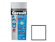 Затирка Ceresit CE 33/2 для швов 2-5мм S белый 2 кг