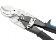 """Кабелерез Gross """"PIRANHA"""", 240мм, двухкомпонентные рукоятки, диаметр кабеля до 14мм, сечение 14мм2"""