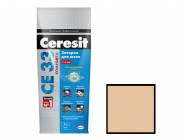Затирка Ceresit CE 33/2 для швов 2-5мм S карамель 2 кг