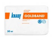 Штукатурка гипсовая Кнауф Гольдбанд белый 30 кг