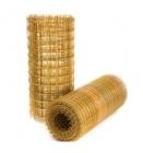 Сетка стеклопластиковая композитная ССК - ф2 ячейка 100х100 рулон 1х25м ЭТИЗ