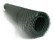 Сетка рабица оцинкованная 2х10 м ячейка 50х50х1,6 мм