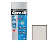 Затирка Ceresit CE 33/2 для швов 2-5мм S сереб-сер 2 кг