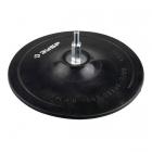 Тарелка опорная ЗУБР для шлифования резиновая для дрели под круг фибровый ф 150мм шпилька ф 8мм