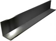 Уголок для потолка Грильято-E 19х24 мм черный 3 м
