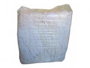 Ветошь обтирочная Белые простыни, не оставляет ворса, отличная гигроскопичность, бязевые ткани, ХБ - 100% (брикет 10кг)